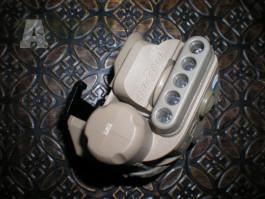 Přilbová svítilna SUREFIRE Helmet Light HL1 modrá bílá