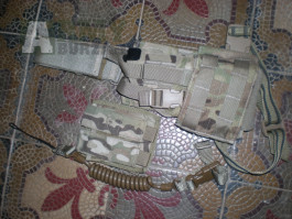 Pouzdro na pistol stehenní OCP scorpion multicam molle II MADE USA tasmanian tiger US Army
