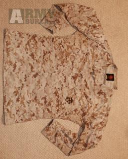 SLEVA - MCCUU uniforma - ORIGINAL USMC - marpat desert