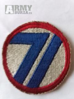 Originální nášivku Us army WW2