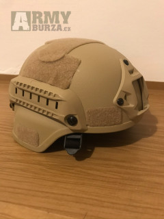 Helma MICH2000 tactical coyote