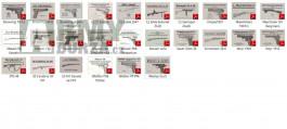 Návod na Sa 24/26, pistole CZ27, P08, 98, Walther PPk,p38 aj