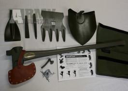 U.S. Max Combination Tool, sada nářadí, sekera - NOVÉ