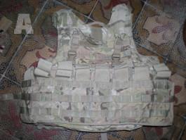 US Army IOTV gen.2  vesta Multicam MC Molle II - zásobníkový pás