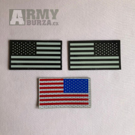 US IR Flag Patch / USA IR vlajka