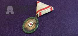 Rakousko Uhersko medaile za zásluhy o červený kříž.