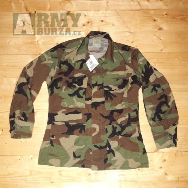 9ae64dbf8 BLŮZA US COMBAT - WOODLAND | Army shop, airsoft, armyburza ...