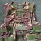 Taktická vesta DPM, střepinovka, potahy