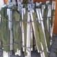 US lehátka U.S. Army hliníkové rozkládací lehátka