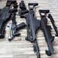 Nefunkční G36, M16, MP5 a přebytky