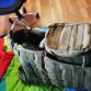 Taktický nosič plátů s molle vazbou
