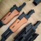 Těla AK47 celokov dřevo