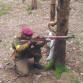 Airsoft zbran M1 Garand drevo-kov,ICS,+príslušenstvo
