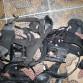 Náhlavka na nočko na použití bez helmy US army komplet