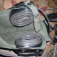 US army Combat vehicle BOSE  - helma kulka sluchátka medium - tanková kukla i helma